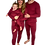 Thumbnail: Adult Ribbed Personalised Embroidered Loungewear