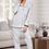 Thumbnail: Personalised Embroidered Ladies Cotton Pyjamas
