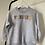 Thumbnail: Personalised Embroidered Multi-Coloured Grey Children's Unisex Sweatshirt