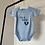Thumbnail: Embroidered Baby Blue Bodysuit 'It's a Boy'