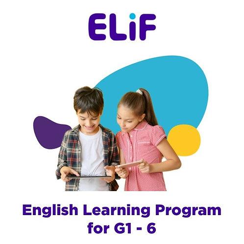 Digital English Learning Program