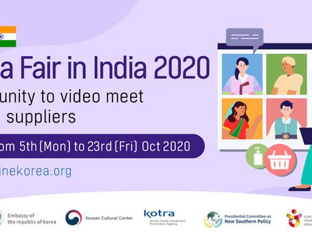 Korea Fair in India 2020
