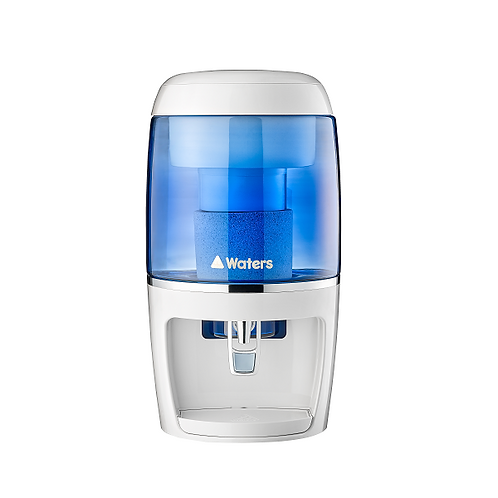 Alkaline mineral water purifier and water filter