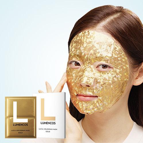Lumencos Hologram Mask pack gold