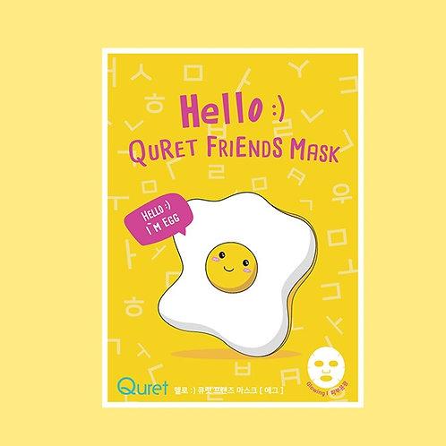 [Quret] Hello Quret Friends Mask Egg