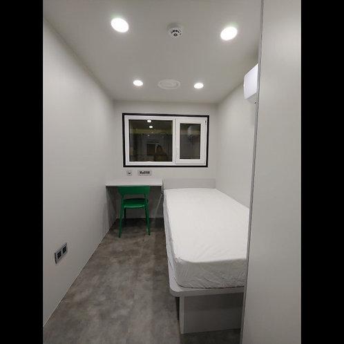 The Quarantreat™ is a hotel-quality Medical Isolation Studio (MIS)