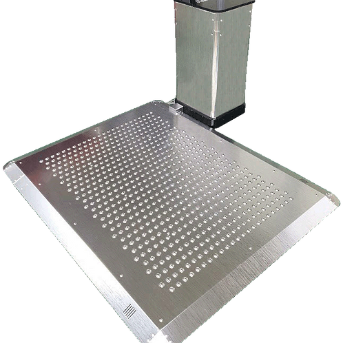 AIRMAX-CleanMat (Entrance of the building,Stainless steel ,square shape)