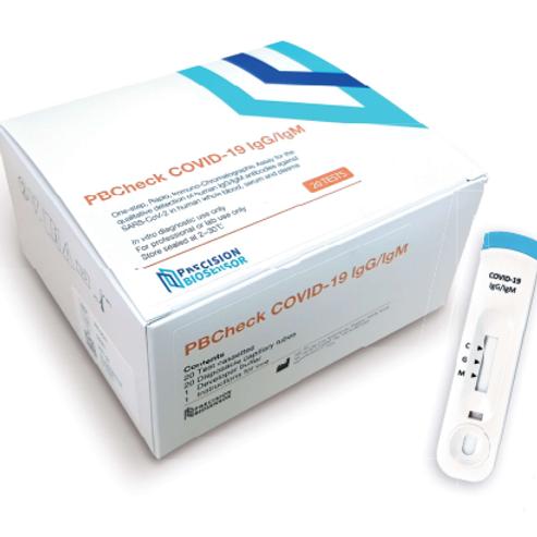 PBCheck COVID-19 IgG/IgM rapid chromatographic immunoassay