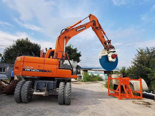 Concrete/Rock Saw for excavators