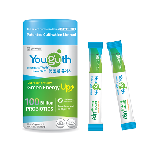Youguth Probiotics Green Energy Up