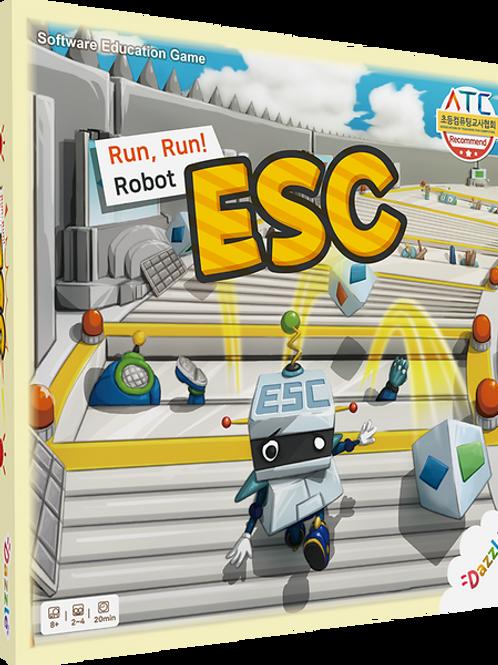 Run, Run, Robot ESC - Boardgame for Coding education