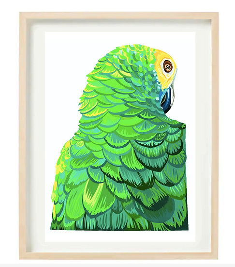 Sultry Parrot - ORIGINAL