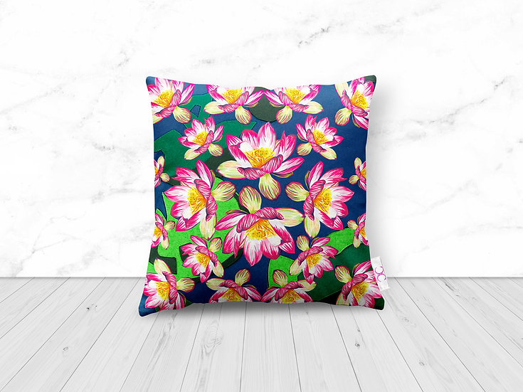 WATERLILY WONDER CUSHION 1 LEFT