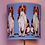 Thumbnail: HOUND DOG SILK LAMPSHADE & SEPARATELY POOKY REGULAR WISTERIA TABLE LAMP
