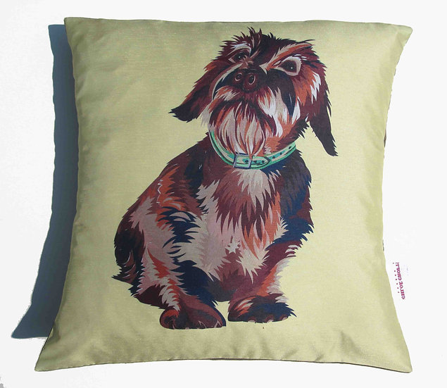 DACHSHUND RIGHT CUSHION 30% OFF 5 LEFT