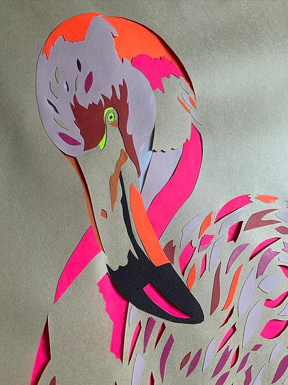 Garland flamingo - ORIGINAL