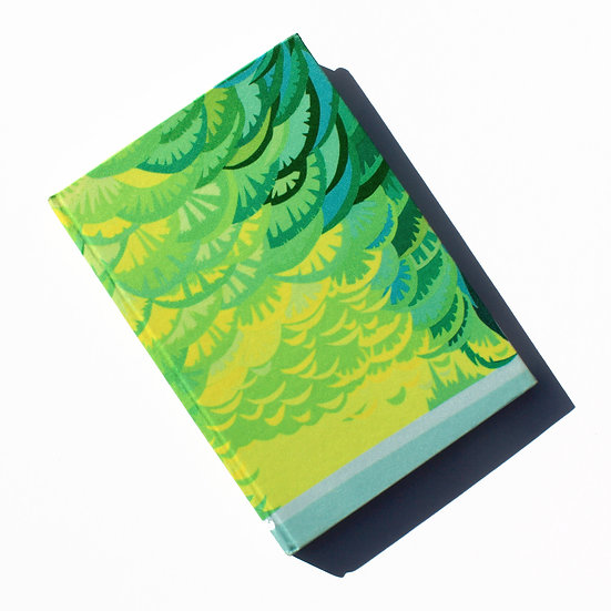 PARROT FEATHER NOTEBOOK