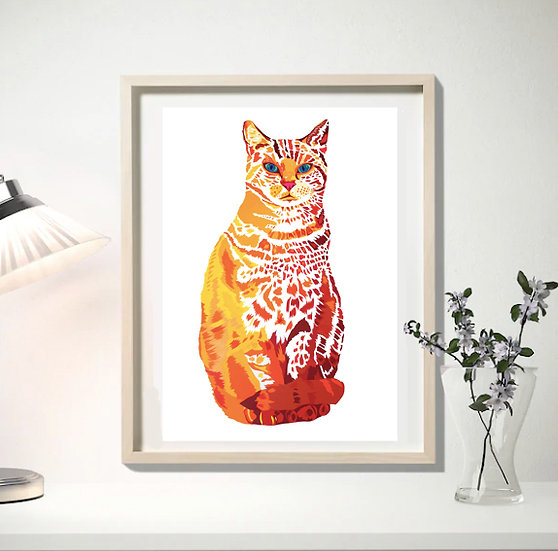 WILLIAM LIMITED EDITION SIGNED GICLEE ART PRINT