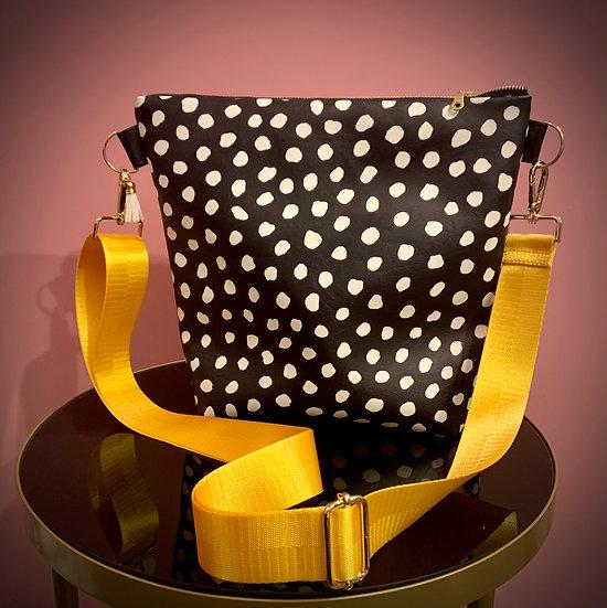 Black and White Spot Handbag