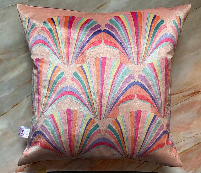 Pastel Shell Cushion 48cm SAMPLE 1 LEFT