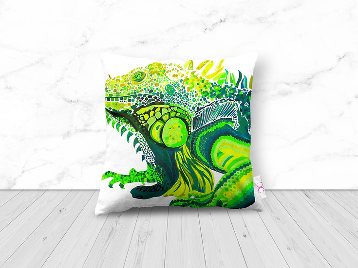 IGUANA CUSHION 50% OFF 1 LEFT!