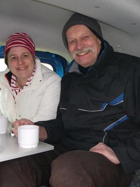 Wintercamping im Dokker