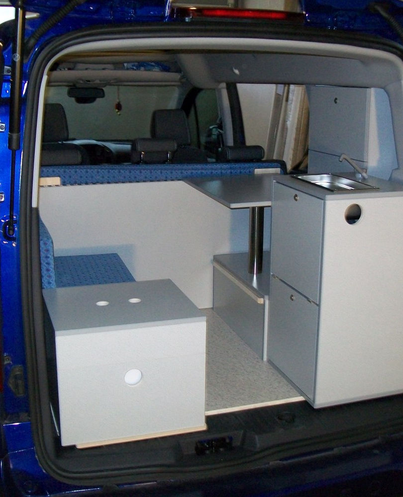Opel Combo XL - Fahrposition
