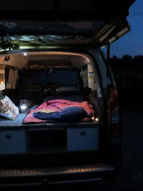 Citroen Berlingo: es wird Nacht