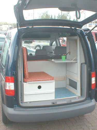 VW Caddy Picknickpostion