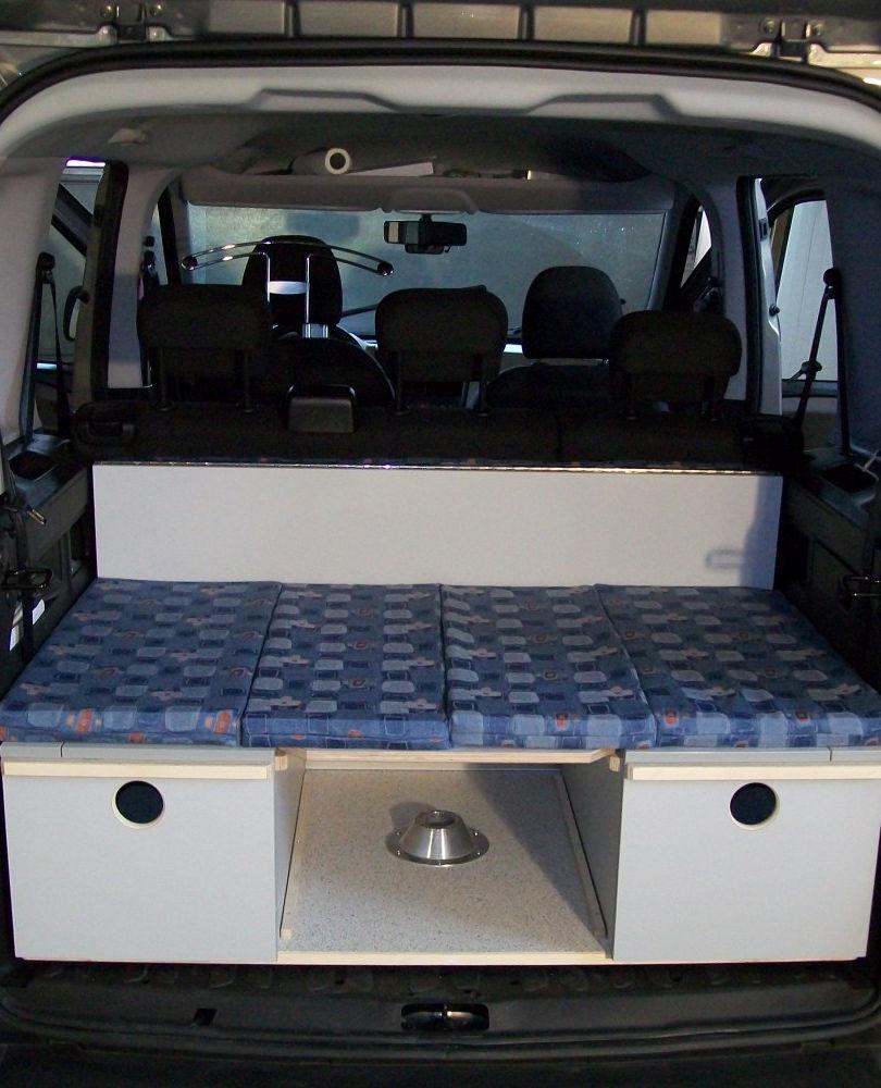 Opel Combo Fahrposition