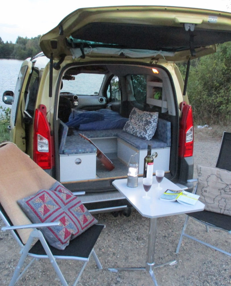 Citroen Berlingo: Picknick