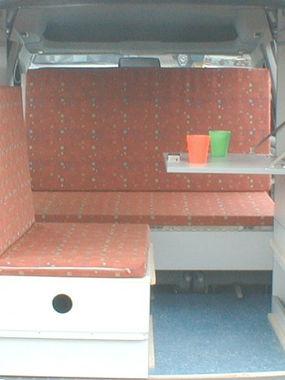 VW Caddy Sitzplatz