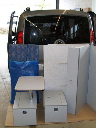 Fiat Doblo - Einrichtungsmodule