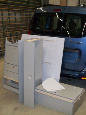 Dacia Dokker - Möbelsatz