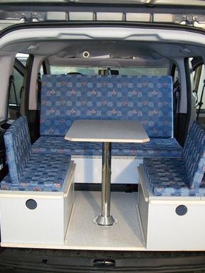 Fiat Doblo - Sitzecke