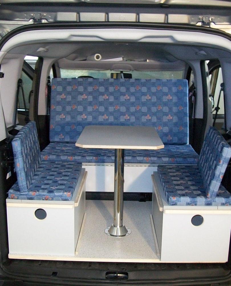 Opel Combo: Wohnposition