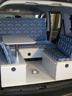 Peugeot Rifter - Sitzecke