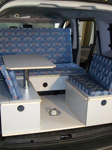 Fiat Doblo - Sitzecke Variante