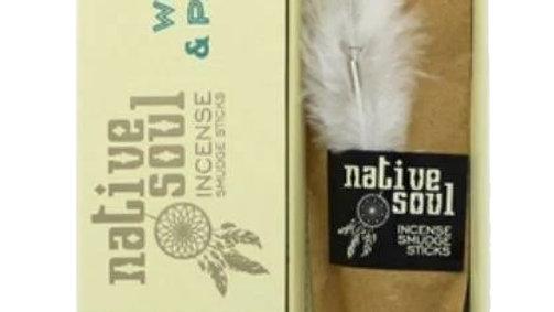 Encens Green Tree Native Soul Sauge Blanche & Palo Santo
