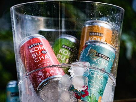 Drinks com Artesa Kombucha