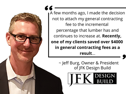 JFK Design Build- Helping You Move Forward Confidently With Building Your Dream Home