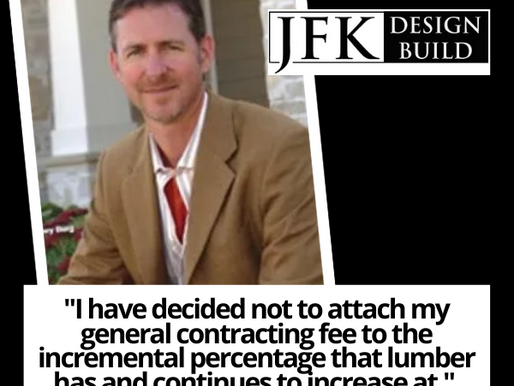 As Lumber Prices Soar, JFK Design Build Softens the Blow