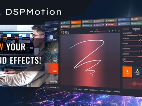 """Статья + Видео: """"Нарисовать"""" звук для видео. DSP Motion (Tsugi)"""