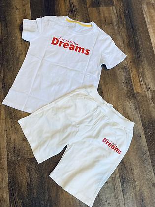 "2 PCS KIDS CLOTHING SETS ""DEF FAMILIA DREAMS"" AND ""ITS A DEF FAMILIA THING"""