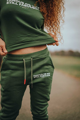 Famous Or Not Still Fabulous Women Sweatsuits Camo Printed
