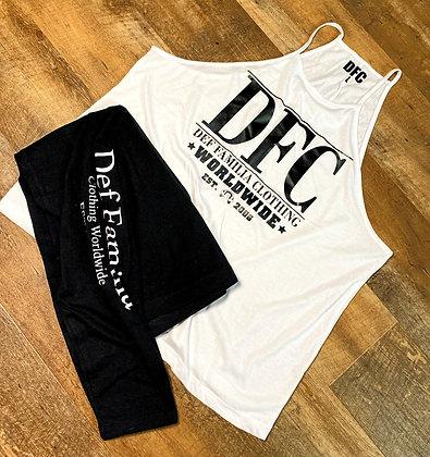 DFC Women's Flowy High-Neck Tank / DFC leggings