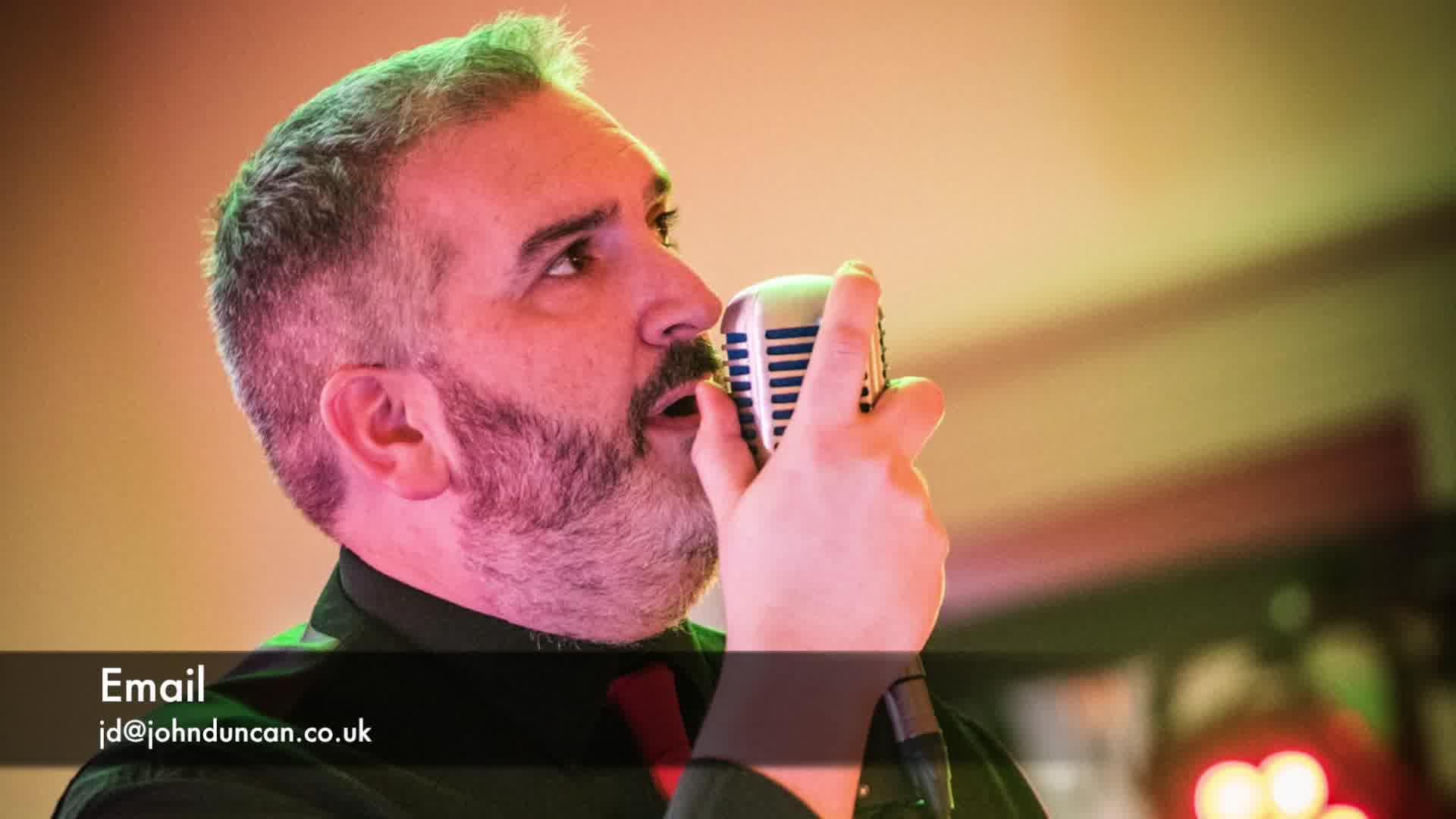 JD Sings...Take on me
