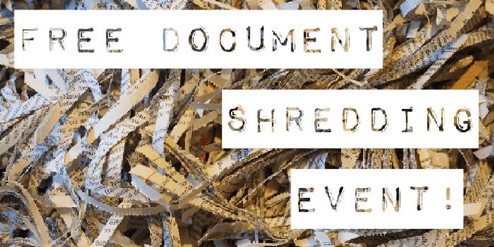 Free on-site Shredding Event