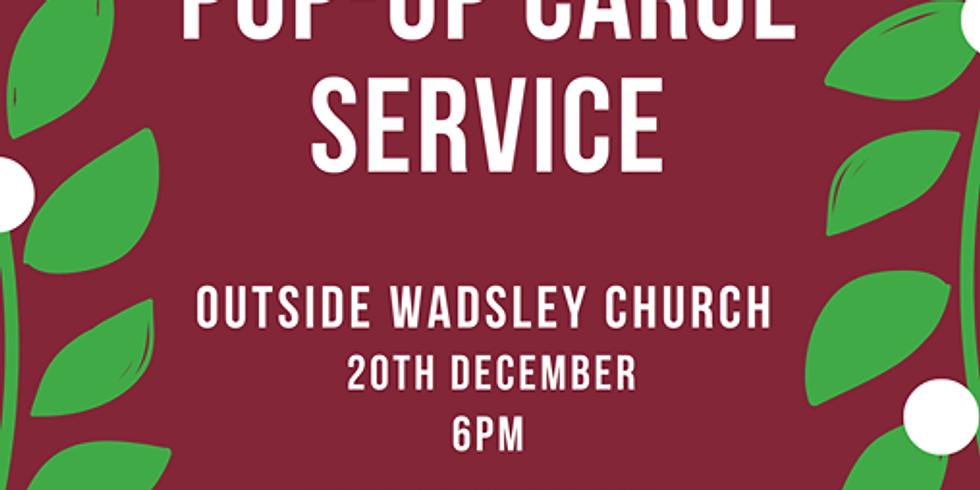 Pop - Up Carol Service