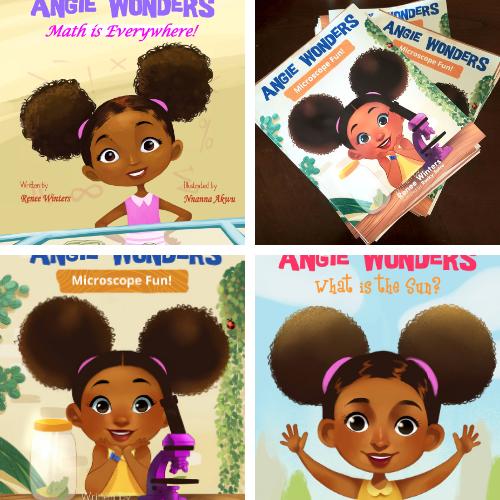 Angie Wonders: Big Book Bundle